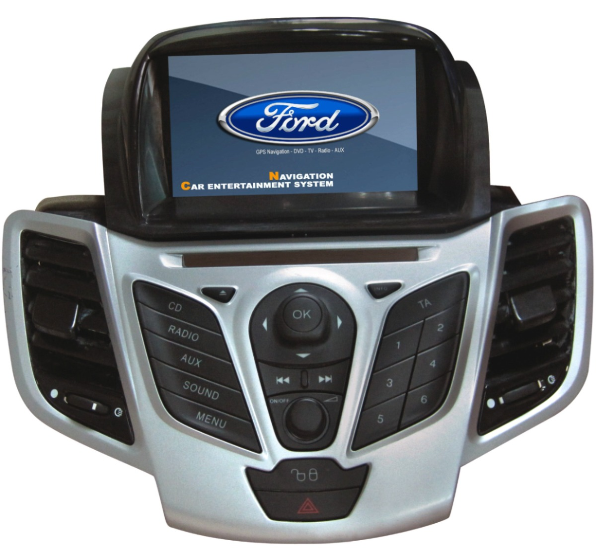 radio multimedia gps ford fiesta 2008 2011 u s 890 00 en mercado libre. Black Bedroom Furniture Sets. Home Design Ideas