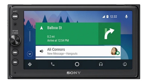 radio multimedia sony xav-ax100 apple carplay android auto