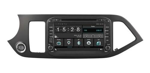 radio navegador carro kia morning picanto 2012 gps bluetooth