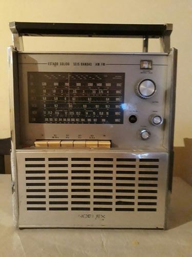 radio noblex 7 mares antigua