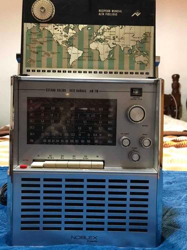 radio noblex 7 mares - como nueva