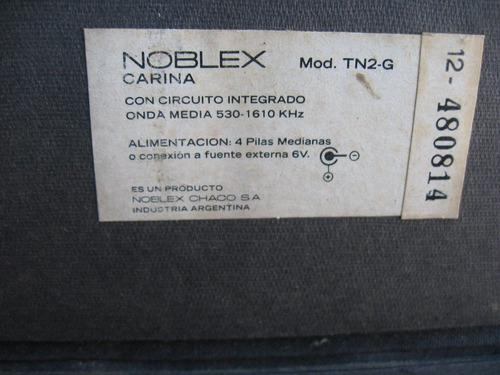radio noblex carina