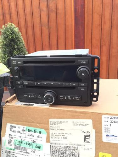 radio original chevrolet tahoe/suburban/silverado