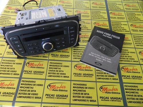 radio original ford focus + manual original