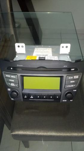 rádio original hyundai ix35, veiculo 15/16