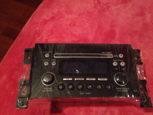 radio original suzuki. gran nomade, sx4, grand vitara, etc.
