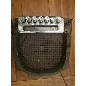 Rádio Original Valvulado Cadillac Anos 40 Restaurado