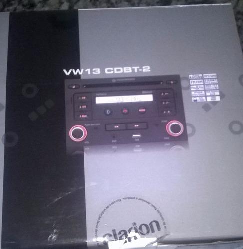 rádio original vw double din, entradas aux/usb/cd/bluetooth