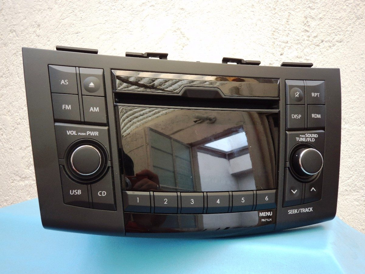 radio panasonic 39101 nuevo suzuki swift 4 en. Black Bedroom Furniture Sets. Home Design Ideas