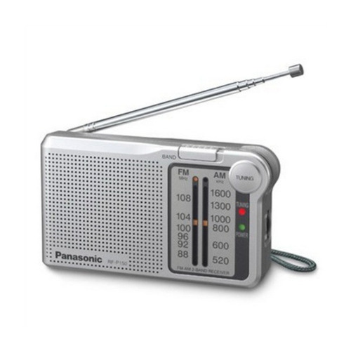 radio panasonic rf-p150d  am/fm 2 bandas
