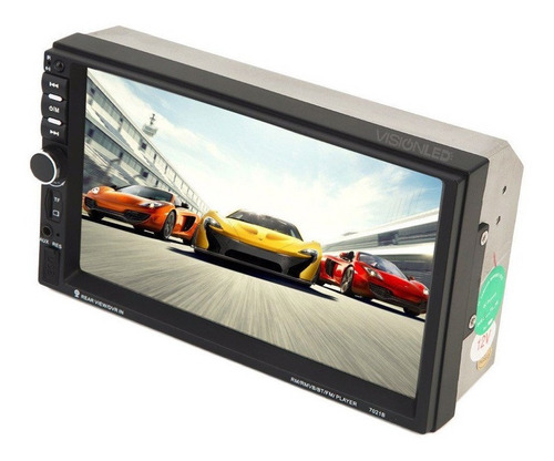 radio pantalla doble din touch bluetooth mp5 usb fm aux sd