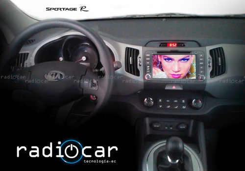 radio pantalla dvd kia sportage r gps cámara de retro