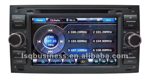 radio pantalla gps dvd  ford fiesta (1999-2006)