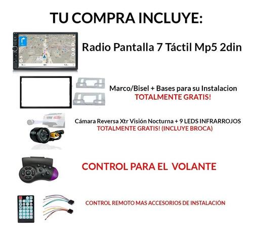 radio pantalla tactil 2 din 7 v 2020 camara mirrorlink bisel