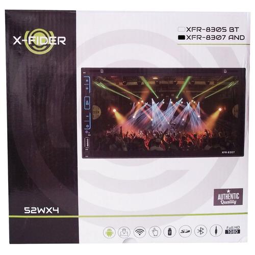 radio pantalla x-fider 8307 7 wifi gps bluetooth cd tactil