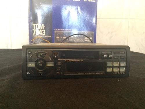 radio para auto alpine