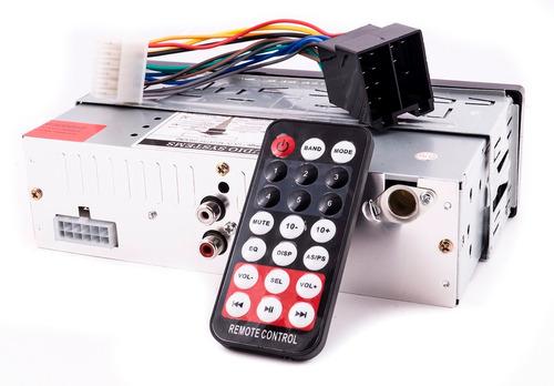 radio para auto bluetooth aux sd radio fm control remoto