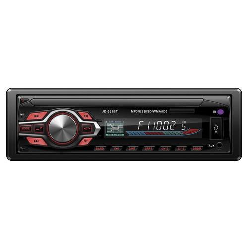 radio para auto ledstar con bluetooth usb y control en loi