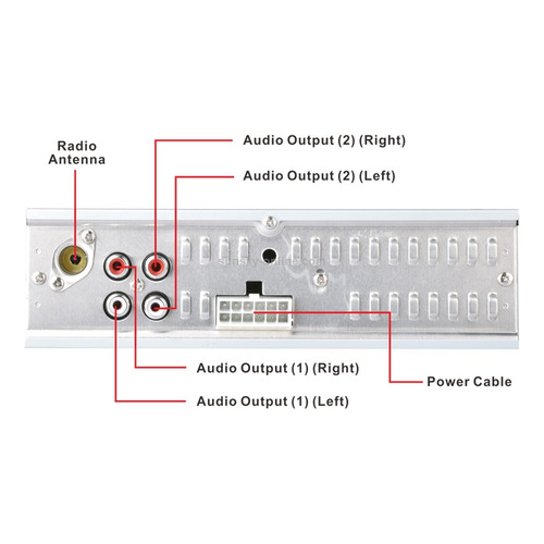 radio para carro, bluetooth, aux, micro, 4 rca para plantas