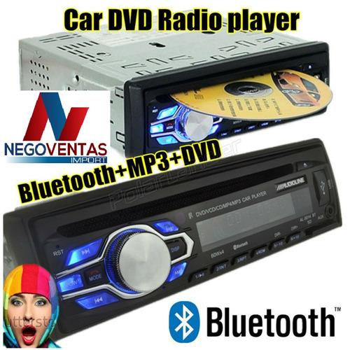radio para carro cd dvd usb aux bluetooh nuevo con garantia