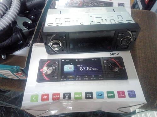 radio para carro con pantalla bluetooth usb sd