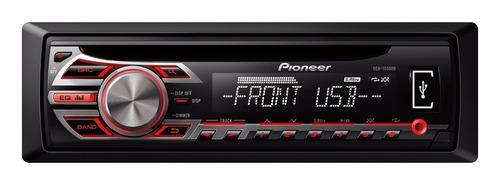 radio para carro deh-1550ub usb, mp3/wma, 50w x 4, fm, am