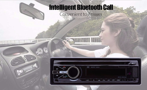 radio para carro dvd vcd cd usb sd aux bluetooth 1 din 4x60w