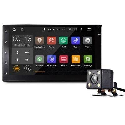 radio para carro pantalla 7 android 6 gps bluetooth usb sd