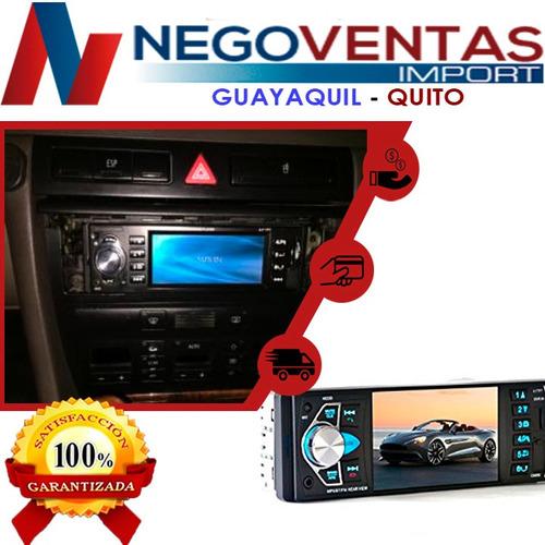 radio para carro pantalla de video 4,2 usb sd aux bluetooh