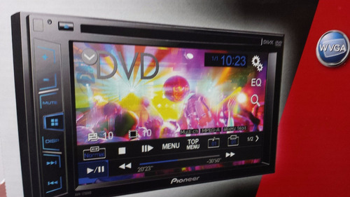 radio para carro pioneer avh-175 mp3 dvd mod 2015 100% orig