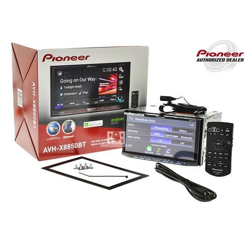 radio para carro pioneer avh x8850bt, doble din, usb, remoto