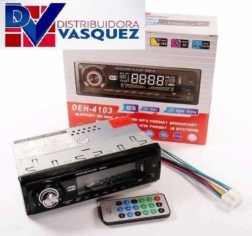 radio para carro usb auxiliar sd economico pantalla lcd