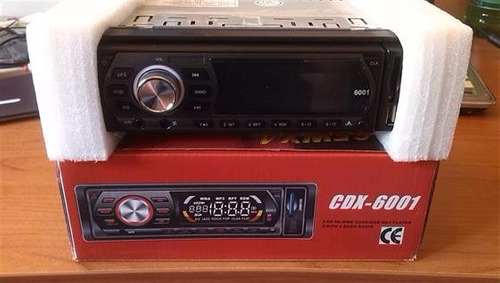 radio para carro usb sd aux fm pantalla extraíble led