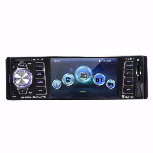 radio para carro usb sd aux mp3 4.1 4x60w con camara