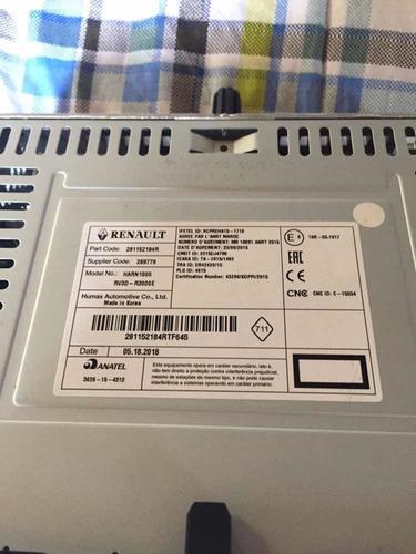 radio para renault logan sandero duster
