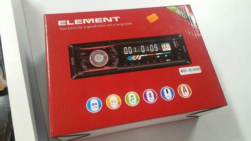 radio para vehiculo bluetooth  element nuevo pantalla lcd