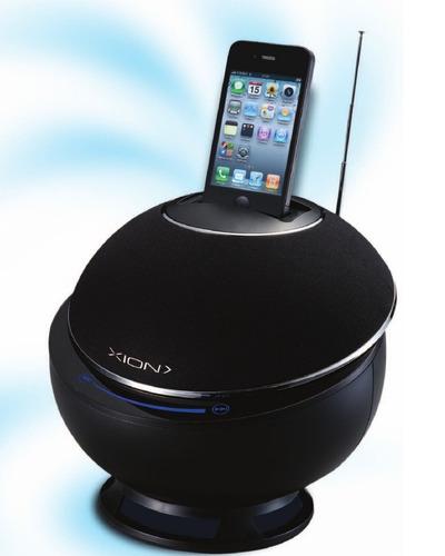 radio parlante 2.1 xion para iphone ipod fm control remoto
