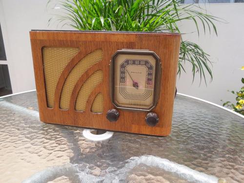 radio philco 38-12 bulbos funcionando totalmente