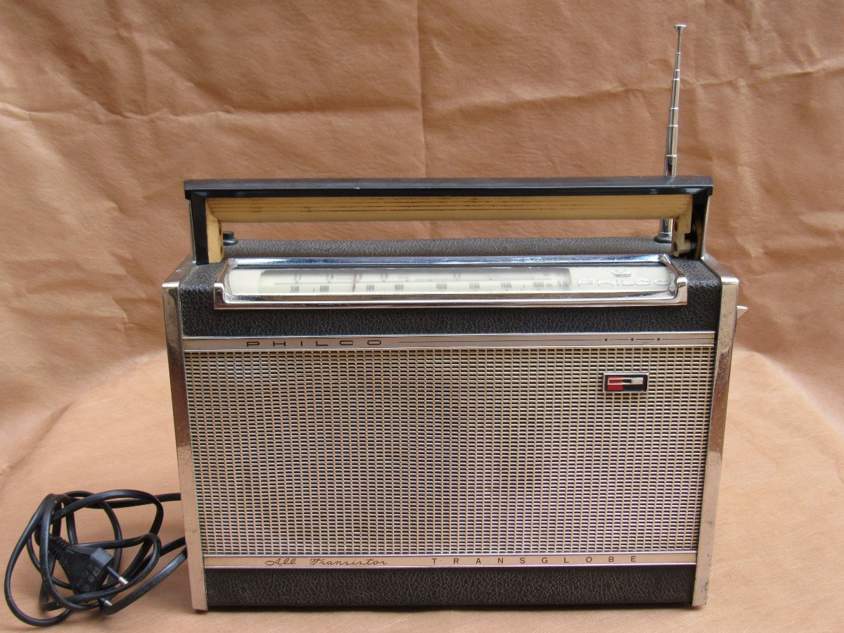 Radio Philco Transglobe All Transistor