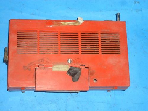 radio philco vermelho