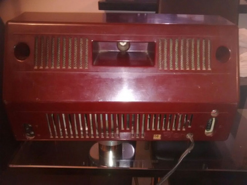 radio philips antiguo de tubos funcionando