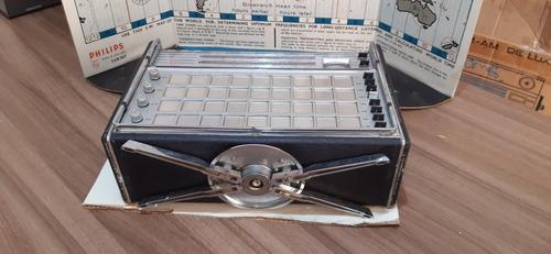 rádio philips l6x38t zurich antigo original