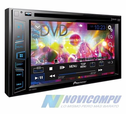 radio pioneer avh 185dvd dvd usb aux mp3 pantalla touch