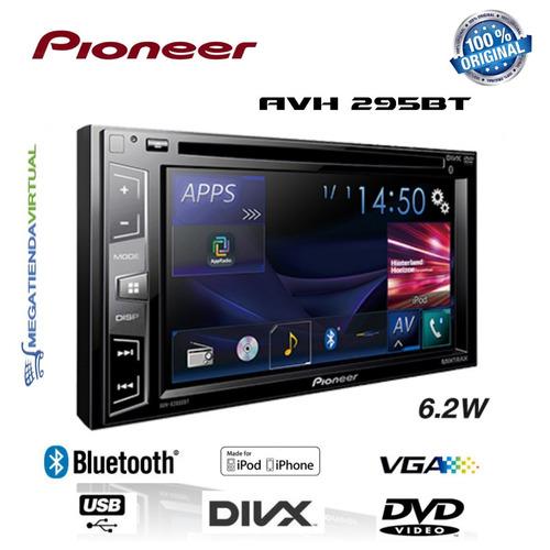 radio pioneer avh-295bt bluetooth  envio gratis