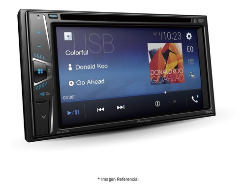 radio pioneer avh-g215bt dvd 6.2 bluetooh cd usb