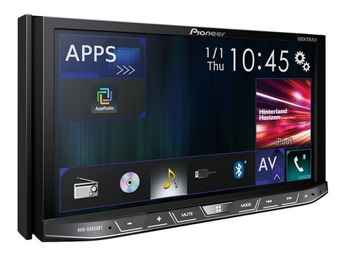radio pioneer avh-x 9250 bt nuevo,2 din pantalla desmontable