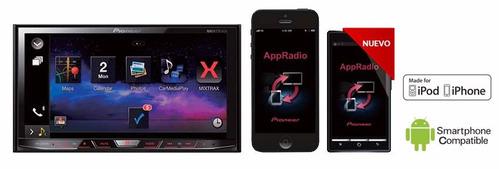 radio pioneer  avh-x7750bt 1 din pantalla 7  bt mixtrack
