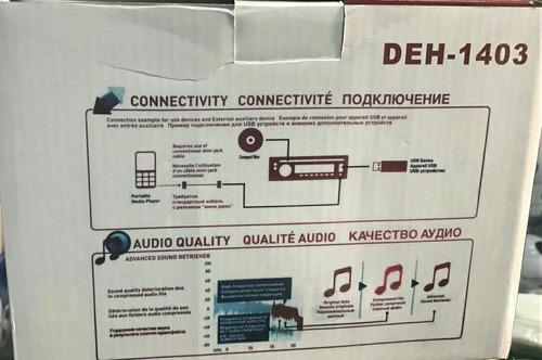 radio pioneer bluetooth remate deh - 1407