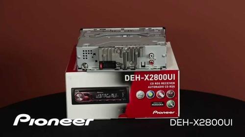 radio pioneer deh-2800ui usb aux oferta solo en  playsound