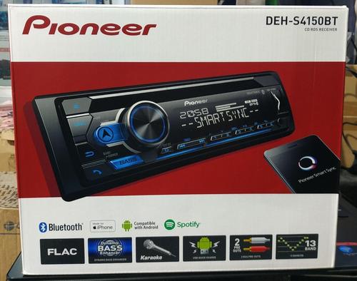 radio pioneer deh-s4150bt, cd, aux, bluetooth, spotify, 50w